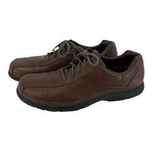 Dunham by Rockport Brown Leather Oxfords